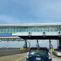 Photo taken at Toll Plaza 1 by Angie P. on 3/31/2013