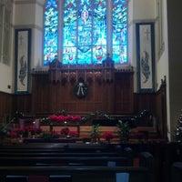Photo taken at Pilgrim Congregational Church by Zack C. on 12/9/2012