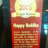 Photo taken at Happy Buddha Vegetarian Restaurant by Harrison Osito C. on 11/11/2012