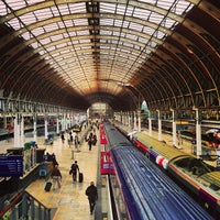 Photo taken at London Paddington Railway Station (QQP) by Rowland W. on 5/13/2013