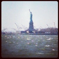 Photo taken at Battery Park by Alwyn L. on 12/30/2012