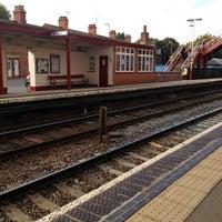 Photo taken at Oakham Railway Station (OKM) by William N. on 9/27/2012
