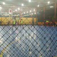 Photo taken at Zona Futsal Pulau Situ Gintung by Alfarouq B. on 2/8/2013