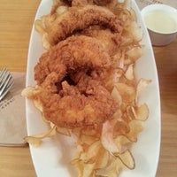 Photo taken at the Frypan by Hyunjung Y. on 10/28/2012
