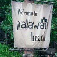 Photo taken at Palawan Beach by Ahmad Asrorie A. on 12/25/2012