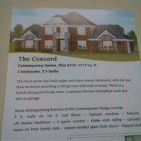Photo taken at Taylor Homes Model Home by Stevee C. on 11/25/2012