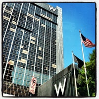 Photo taken at W Atlanta - Midtown by John N. on 12/21/2012
