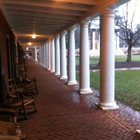 Photo taken at University of Virginia by Stefano G. on 1/17/2013