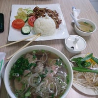 Photo taken at Pho Lover by Edith on 4/12/2013