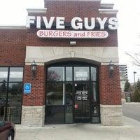Photo taken at Five Guys by Sean H. on 4/6/2013