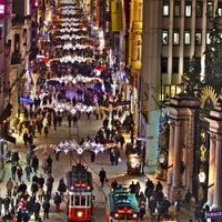 Photo taken at Taksim by Hakan A. on 11/15/2013