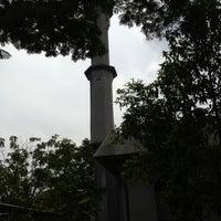 Photo taken at Masjid Saidina Umar Al-Khattab by ak y. on 11/30/2012