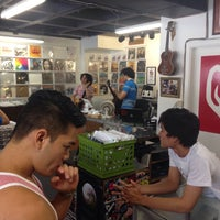 Photo taken at Hungry Ear Records by Noelle W. on 8/3/2015
