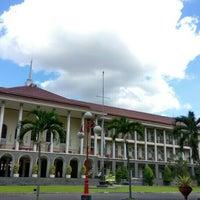 Photo taken at Gedung Pusat UGM by Wahyu A. on 6/26/2016