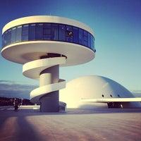 Photo taken at Oscar Niemeyer International Cultural Centre by Jon C. on 11/24/2012