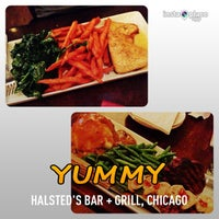 Photo taken at Halsted's Bar + Grill by iTweet T. on 4/25/2013
