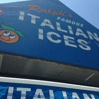 Photo taken at Ralph's Famous Italian Ices by Frankie C. on 7/16/2013