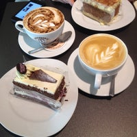 Photo taken at Patisserie Valerie by Dennis on 4/13/2014