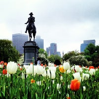 Photo taken at Boston Public Garden by Adam D. on 5/12/2013