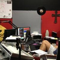 Photo taken at Revocation Radio Studio (http://myrevradio.com) by Keith L. on 10/12/2012