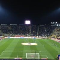 Photo taken at Stadio Renato Dall'Ara by Alessio on 3/16/2013