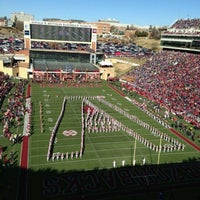 Photo taken at Donald W Reynolds Razorback Stadium by Turbodog G. on 11/23/2012