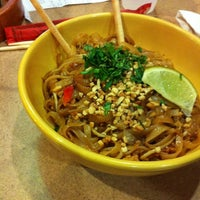 Photo taken at Nothing But Noodles by Christy K. on 12/1/2012