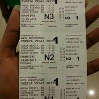 Photo taken at Lotus Five Star Cinemas (LFS) by Tayallan P. on 6/14/2013