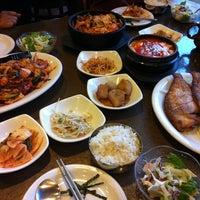Photo taken at Hosoonyi Korean Restaurant by Chefmax on 10/11/2013