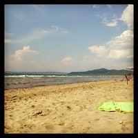 Photo taken at Punta Ala by Flavio T. on 7/7/2013