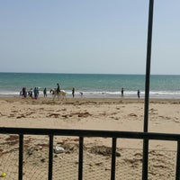 Photo taken at Sandspit by shahid m. on 3/29/2015