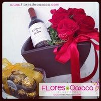 Photo taken at Florería Flores de Oaxaca by Florería Flores de Oaxaca on 1/29/2014