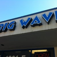 Photo taken at Big Wave Laundromat by Jesse D. on 10/26/2012