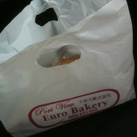 Photo taken at Port View Euro Bakery by Bblank b. on 11/11/2012