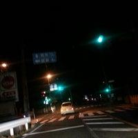 Photo taken at 板倉 交差点 by 世界のGORO on 3/15/2014