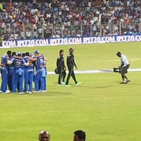 Photo taken at Wankhede Stadium by Nupur H. on 4/29/2013