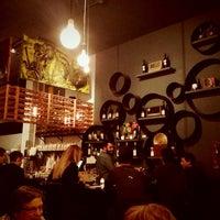 Photo taken at Vinyl Coffee & Wine Bar by Robert R. on 3/8/2013