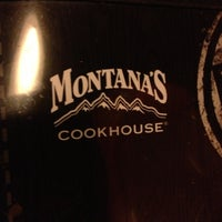 Photo taken at Montana's Cookhouse Bar & Grill by Maureen Kandice R. on 12/22/2012