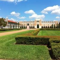 Photo taken at Rice University by Paulina on 9/24/2013