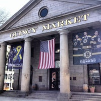 Photo taken at Quincy Market by C.C. C. on 5/13/2013