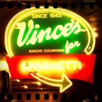 Photo taken at Vince's Spaghetti by Steph P. on 12/16/2012