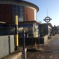 Photo taken at Arnos Grove London Underground Station by Doni J. on 2/15/2013