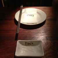 Photo taken at Tao Authentic Asian Cuisine 道 by chan c. on 2/3/2013