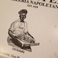 Photo taken at Frank Pepe Pizzeria Napoletana by Lauren K. on 10/8/2012
