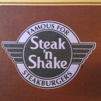 Photo taken at Steak 'n Shake by Steve R. on 9/16/2012