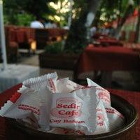 Photo taken at Sedir Cafe by Serdar on 7/21/2013