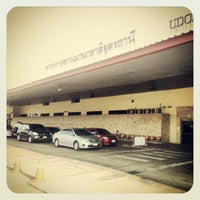 Photo taken at Udon Thani International Airport (UTH) by Topz L. on 1/23/2013