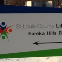 Photo taken at St. Louis County Library - Eureka Hills Branch by Alyssa W. on 1/9/2014