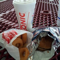 Photo taken at SONIC Drive In by Alex D. on 10/8/2012