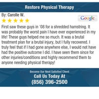 Photo taken at Restore Physical Therapy by Restore Physical Therapy on 11/12/2016